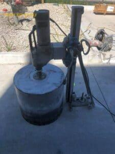 קידוח ברצפת בטון על ידי קודח יהלום בראשון לציון בשכונת נווה ים